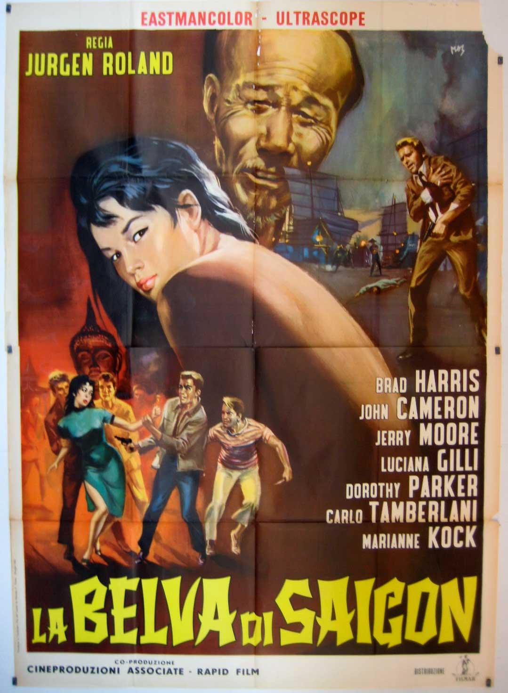 Quot Belva Di Saigon La Quot Movie Poster Quot The Black Panther Of