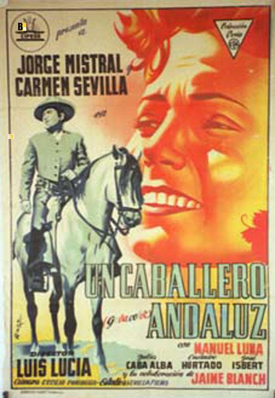 Un caballero andaluz movie poster un caballero - El balcon de la luna ...