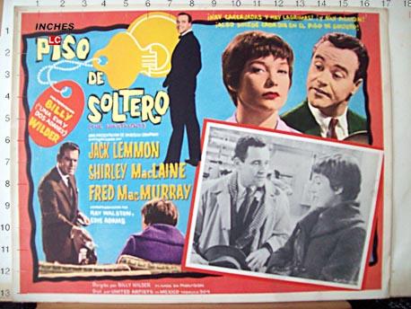 Piso de soltero movie poster the apartment movie poster - Piso de soltero ...