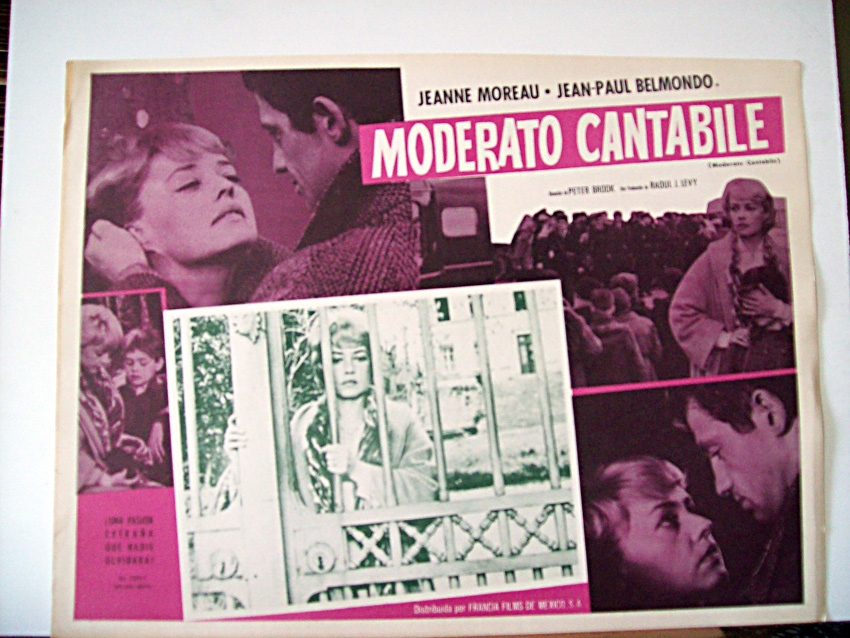 moderato cantabile essay Moderato cantabile, the central alcoholic character is a woman,3 the second part of this article explores the specific status of female alcoholism as a symbol of women's transgressions of socially coded models of femininity.