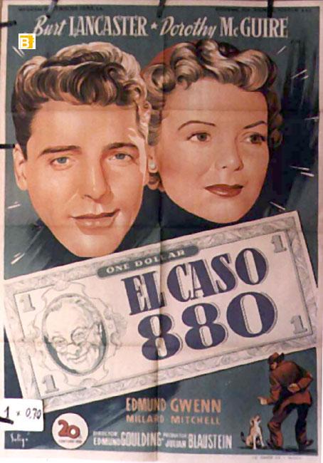 Quot El Caso 880 Quot Movie Poster Quot Mister 880 Quot Movie Poster