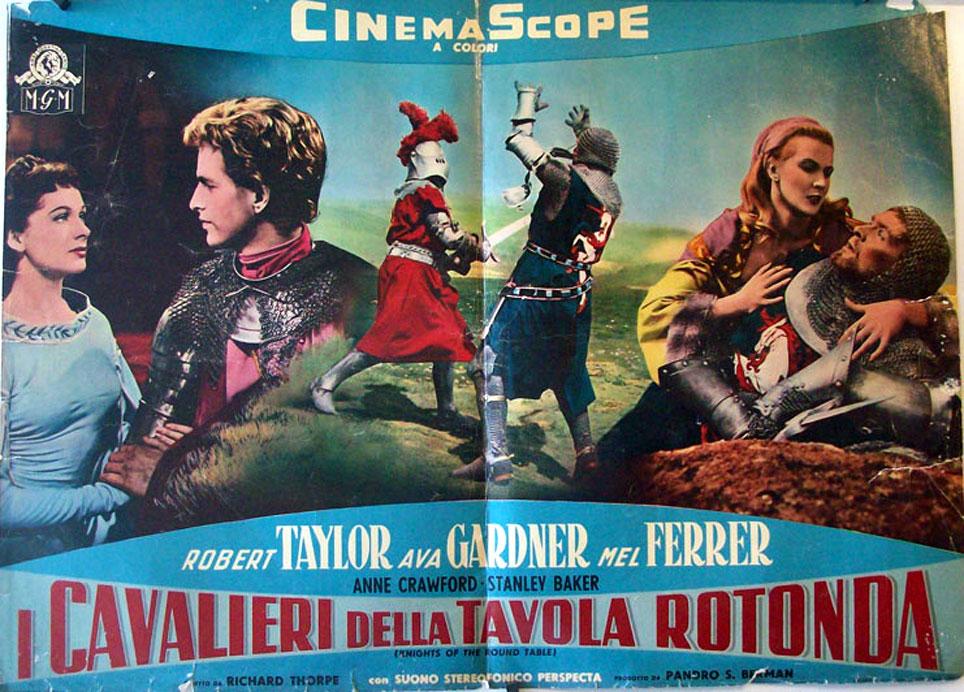 I cavalieri della tavola rotonda movie poster knights of the round table movie poster - I cavalieri della tavola rotonda film ...