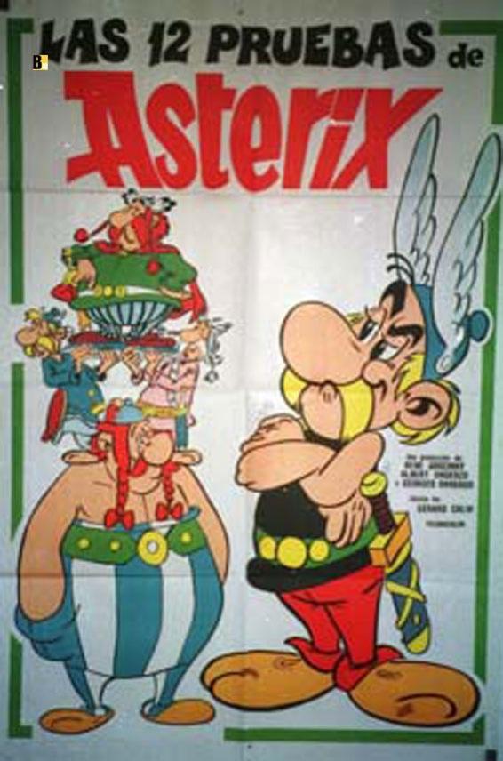 Doce Pruebas De Asterix  Las