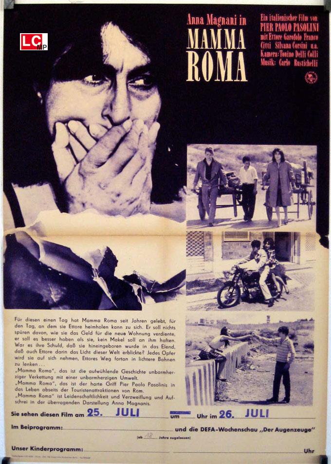"""MAMMA ROMA"" MOVIE POSTER - ""MAMMA ROMA"" MOVIE POSTER"