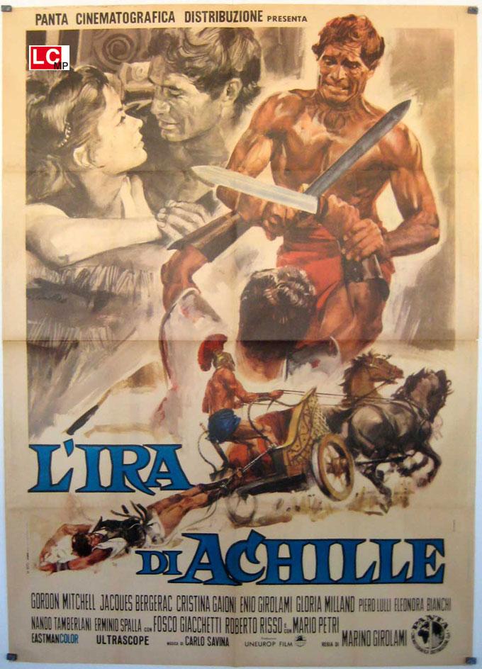 locandina L'ira di Achille