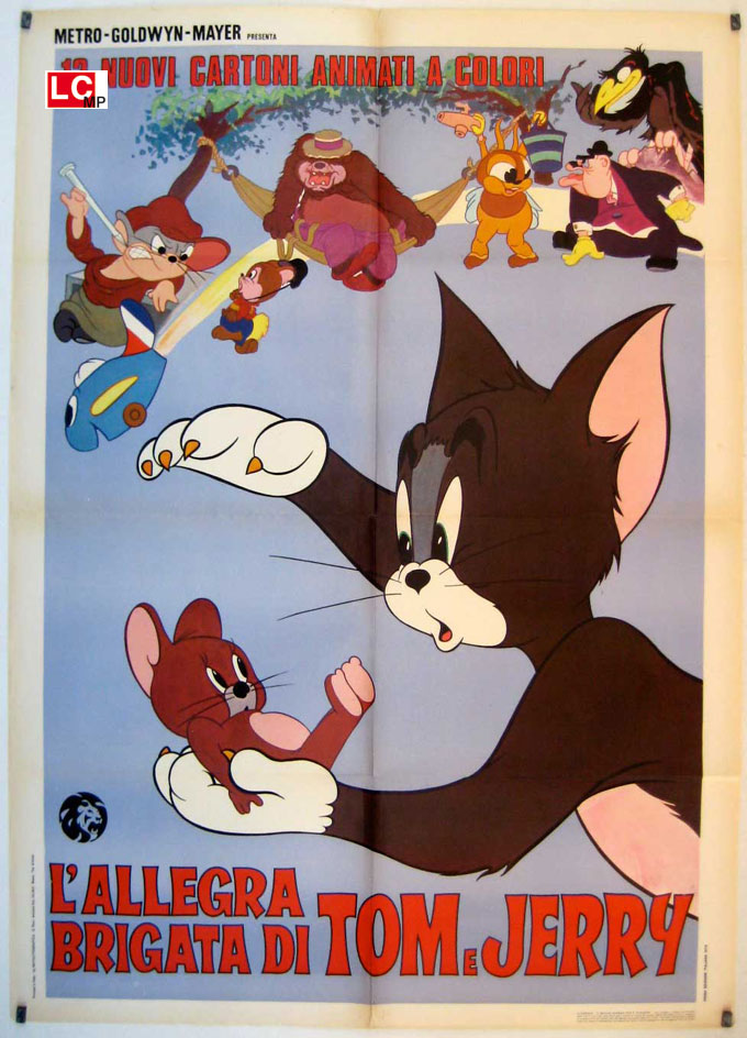 Tom jerry i pupazzi in pvc