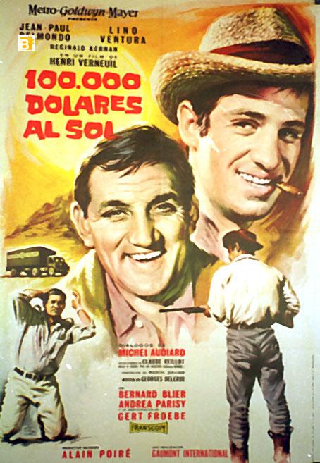 u0026quot 100000 dollari al sole u0026quot  movie poster