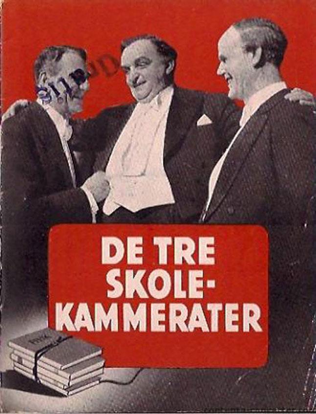 De Tre Skole Kammerater Movie Poster De Tre Skolekammerater