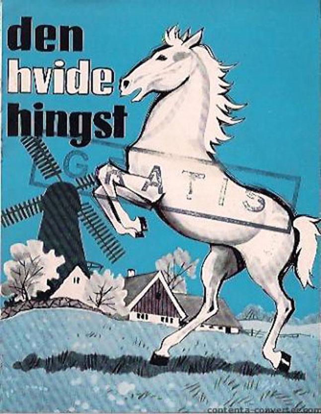 """""""DEN HVIDE HINGST"""" MOVIE POSTER - """"DEN HVIDE HINGST"""" MOVIE ... Den Hvide Djaevel"""