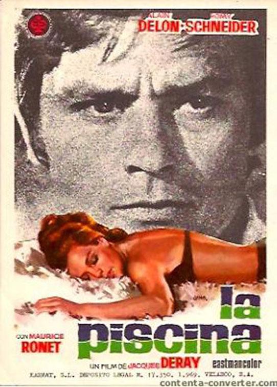 Piscina la movie poster la piscine movie poster for La piscine film