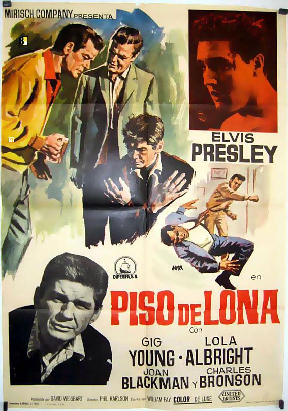 Piso de lona movie poster kid galahad movie poster for El cuarto piso pelicula