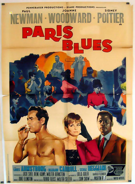 paris blues movie poster paris blues movie poster. Black Bedroom Furniture Sets. Home Design Ideas