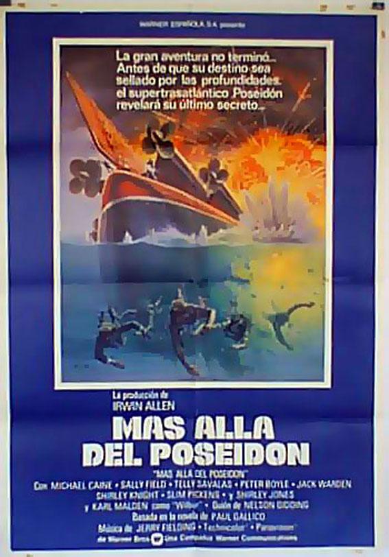 Mas Alla Del Poseidon Movie Poster Beyond The Poseidon