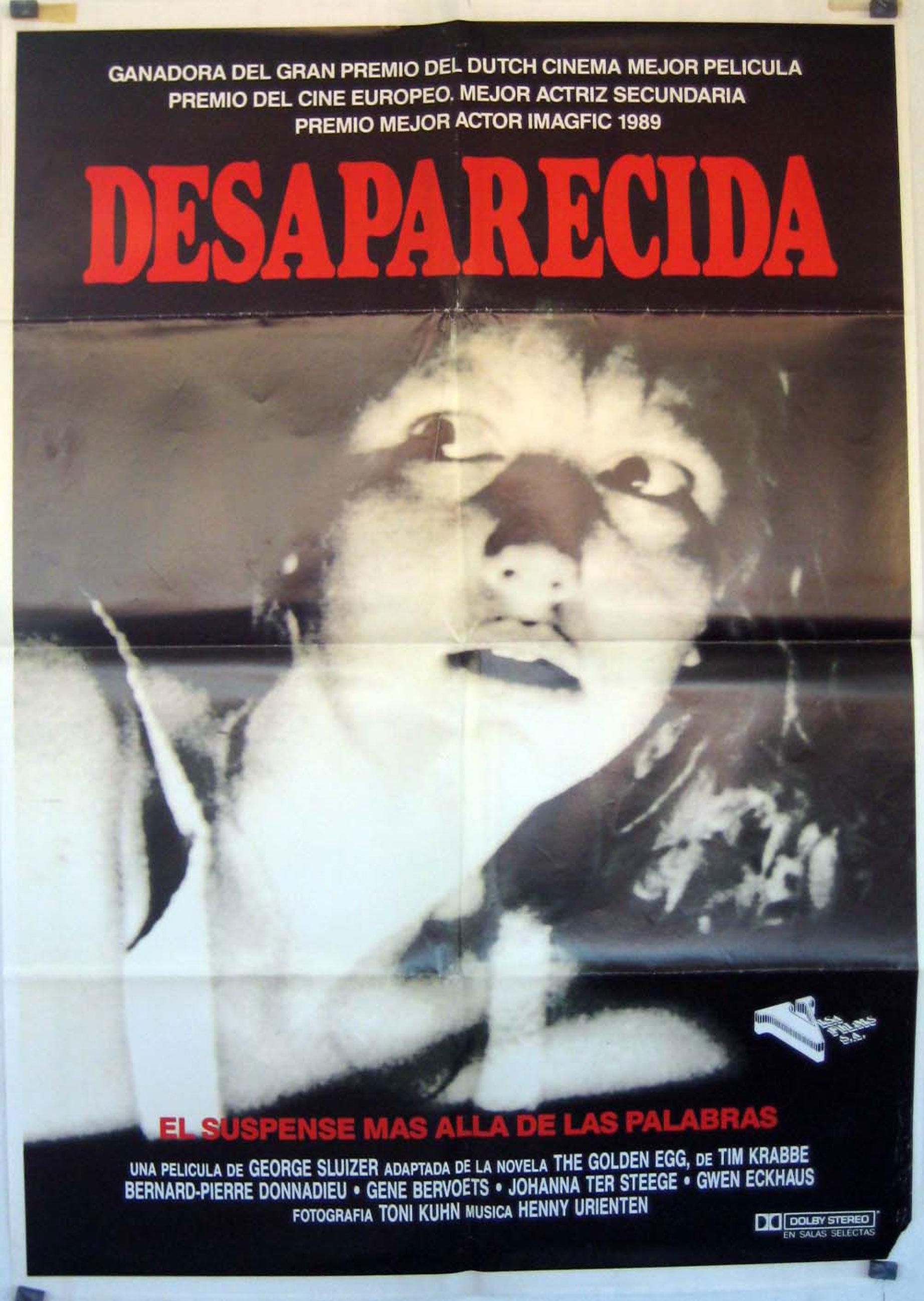 quotdesaparecidaquot movie poster quotspoorloosquot movie poster