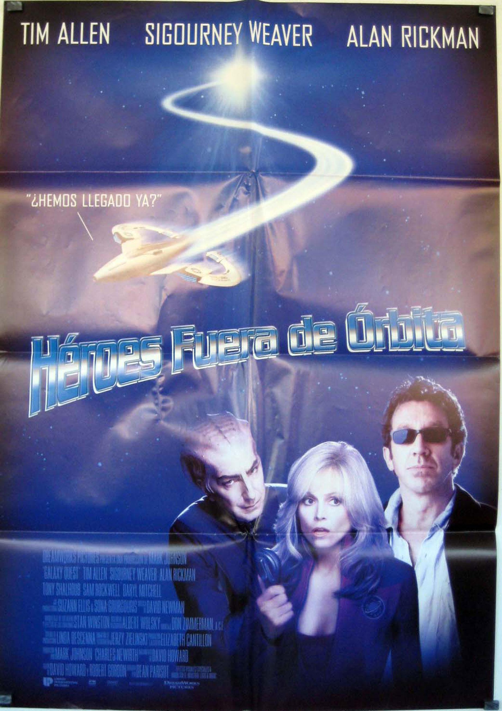 Heroes fuera de orbita movie poster galaxy quest for Fuera de orbita