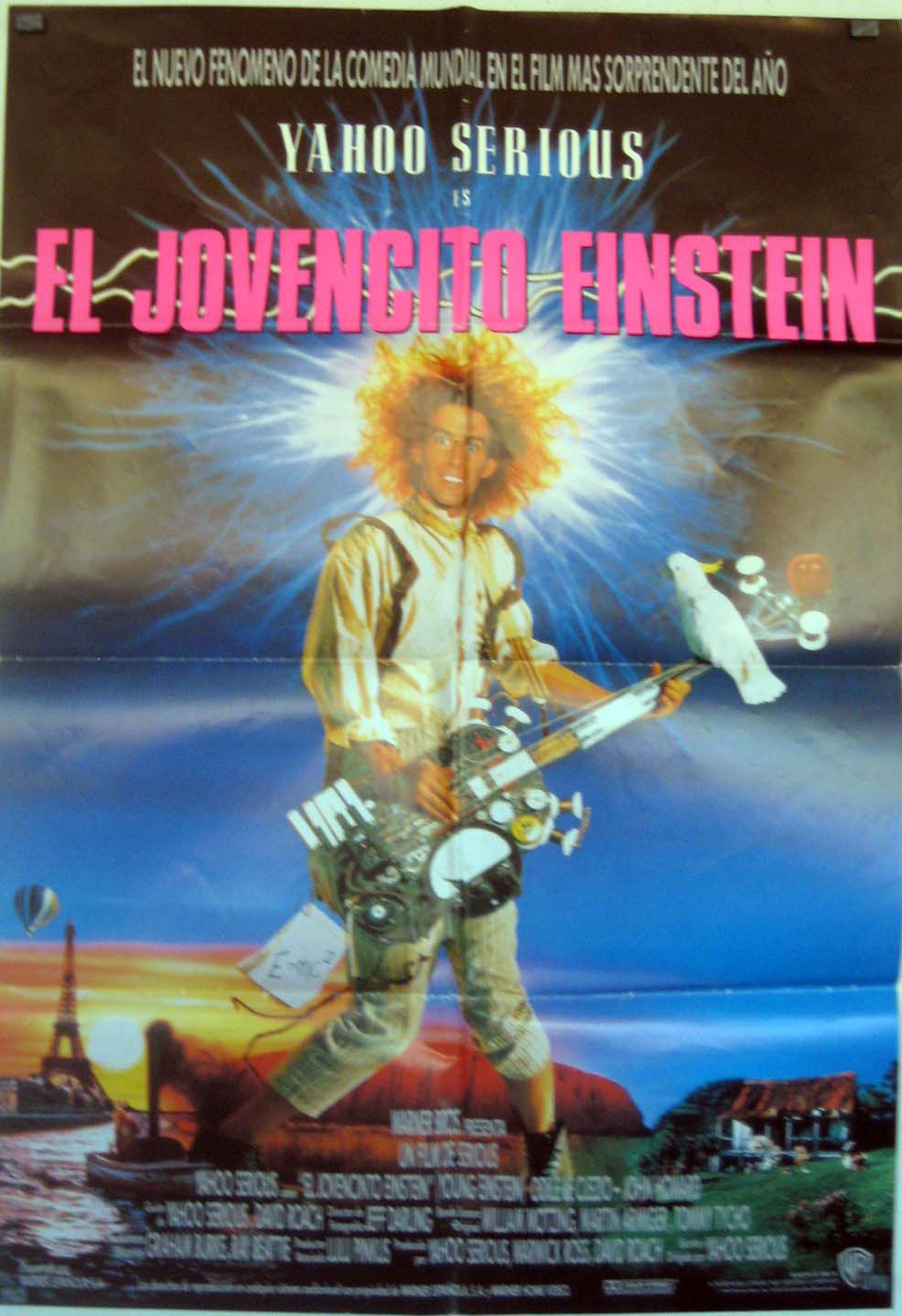 El jovencito einstein movie poster young einstein for El mural pelicula descargar