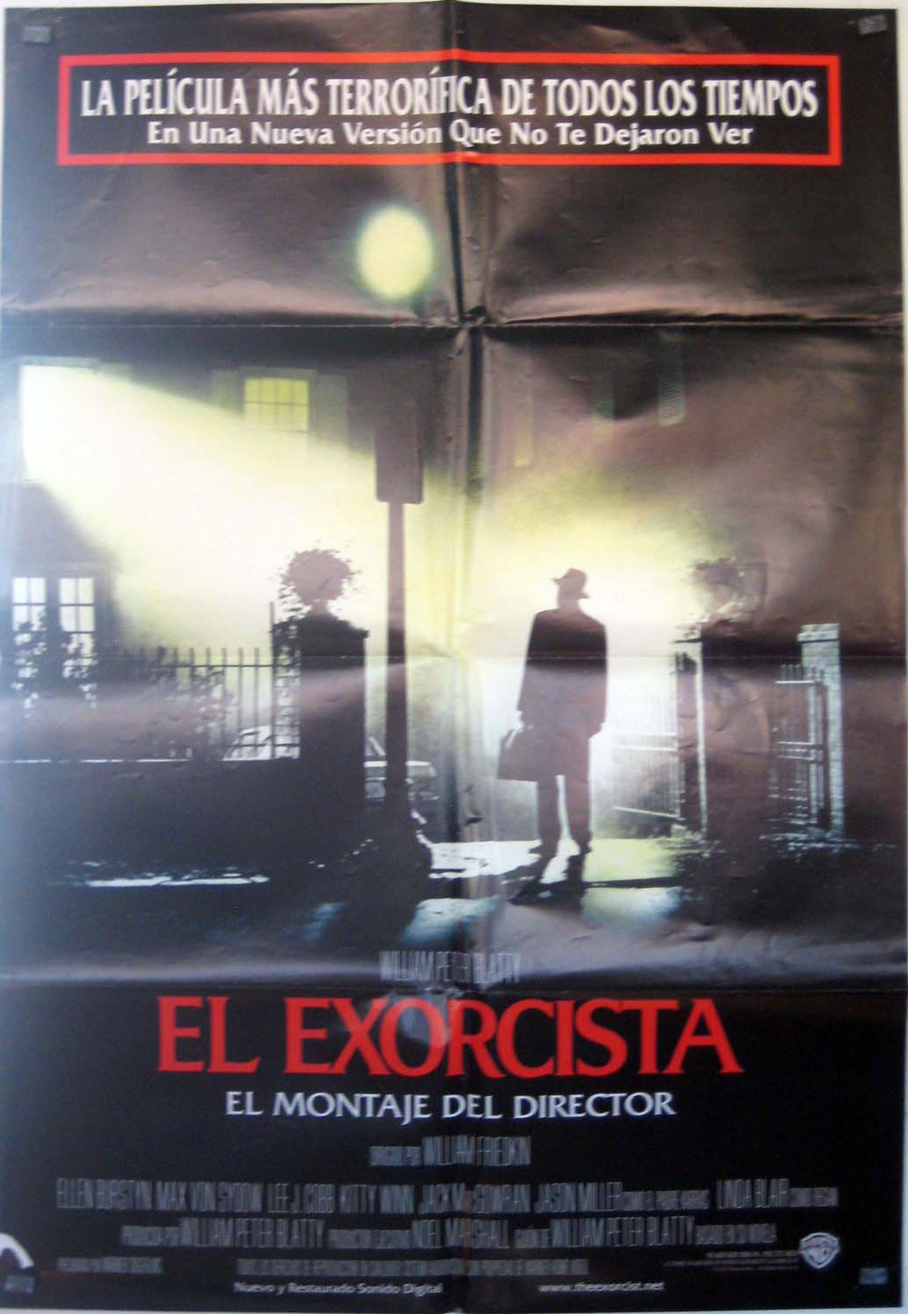 poster pelicula el exorcista