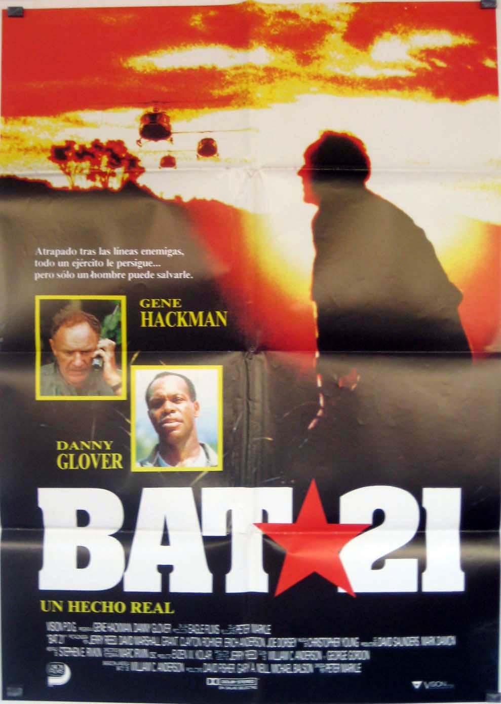 bat 21 movie - posters
