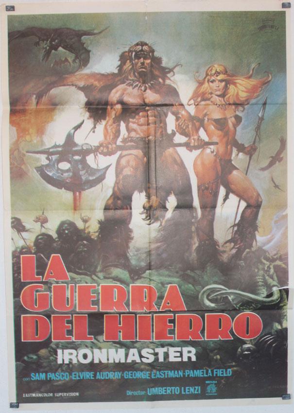 """""""LA GUERRA DEL HIERRO"""" MOVIE POSTER - """"LA GUERRA DEL FERRO ..."""