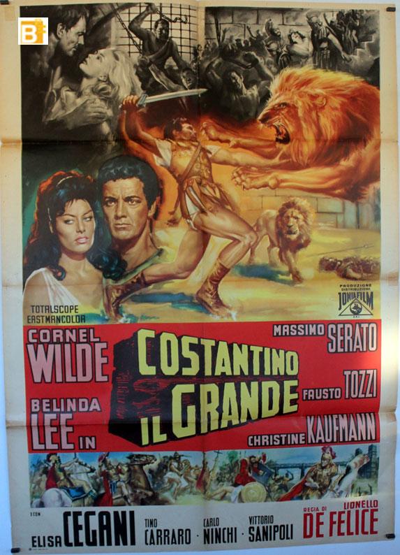 Quot Costantino Il Grande Quot Movie Poster Quot Constantino Il