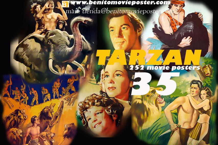 quottarzan 252 movie poster pdfbookquot movie poster quot35 pdf