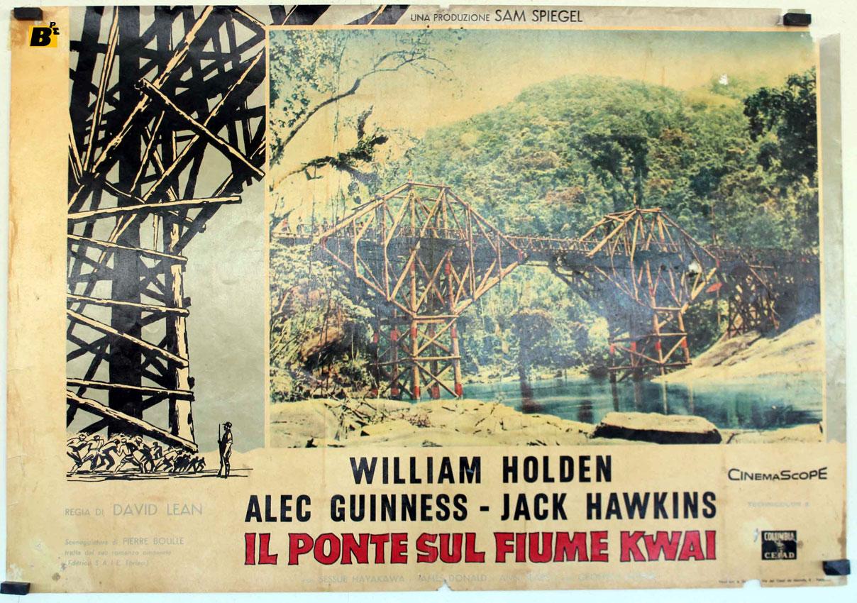 Il ponte sul fiume kwai movie poster the bridge on the river kwai movie poster - Il giardino sul fiume ...