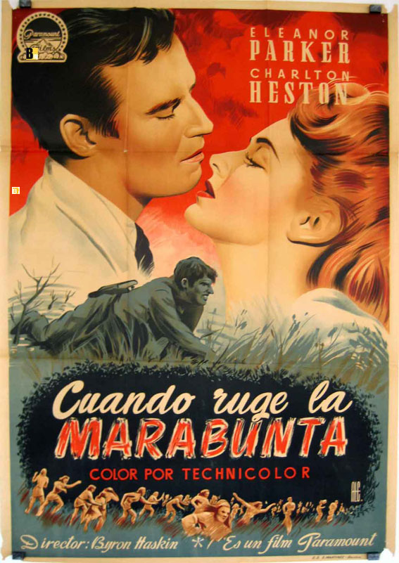 The Naked Jungle (1954) - Posters — The Movie Database (TMDb)