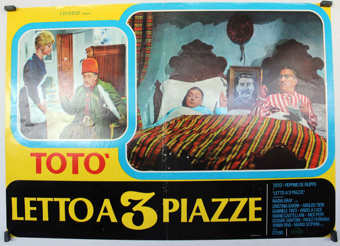 Letto a 3 piazze movie poster letto a tre piazze movie poster - Letto tre piazze ...