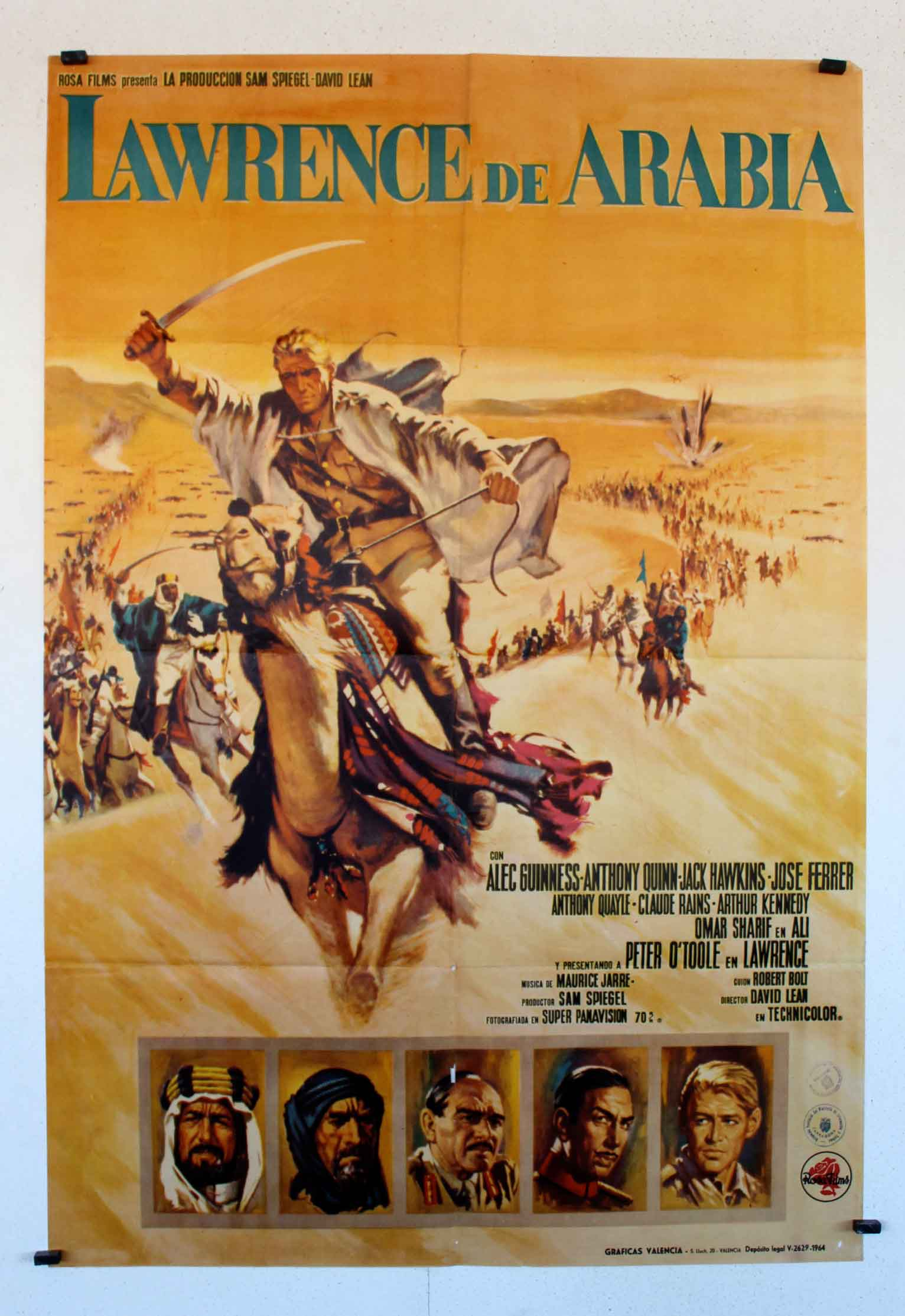 Top » Catalog » ENGLAND » 28496 LAWRENCE OF ARABIA