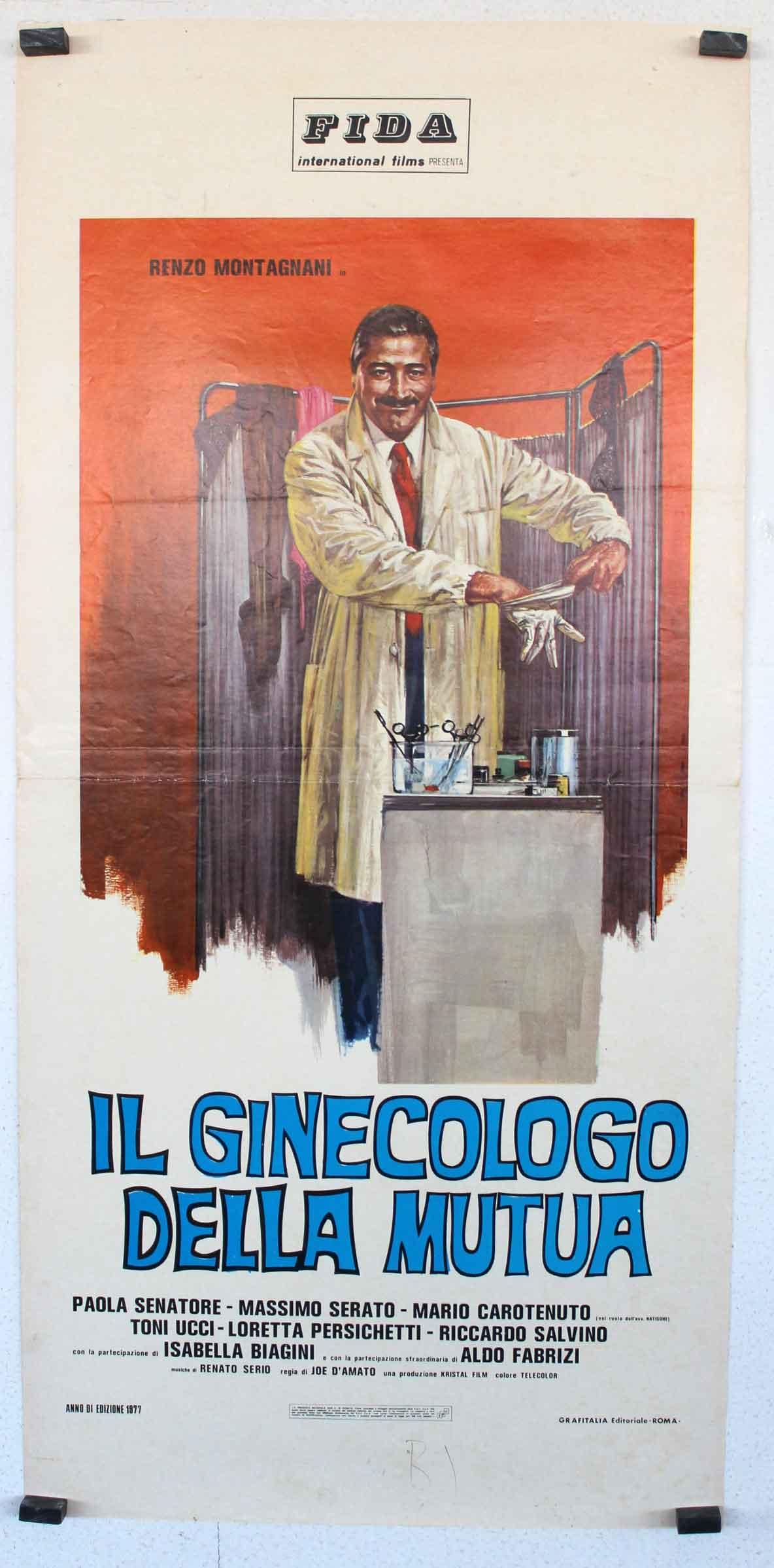 """Paola Senatore il ginecologo della mutua"""" movie poster - """"il ginecologo"""