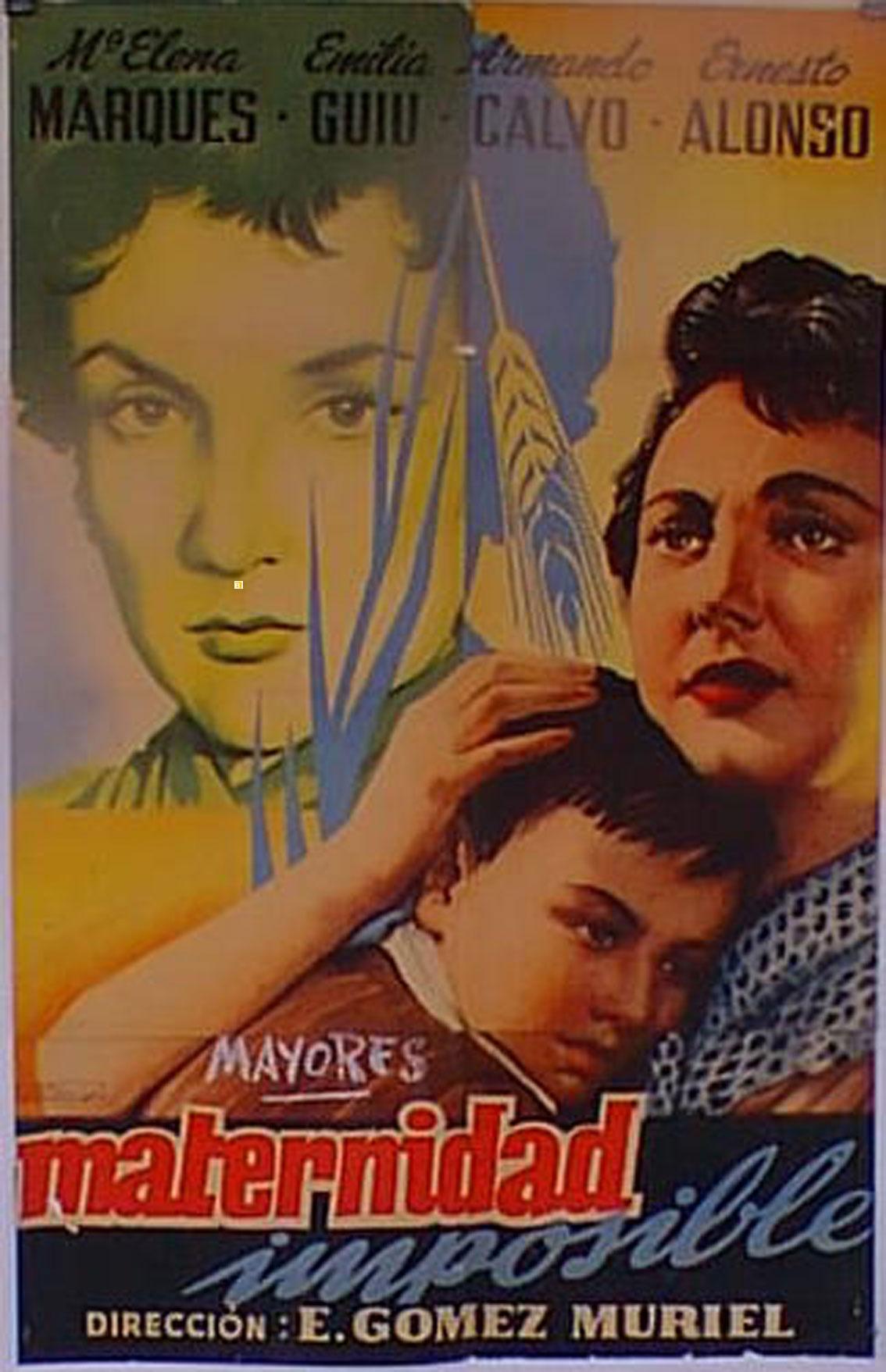 Quot Maternidad Imposible Quot Movie Poster Quot Maternidad