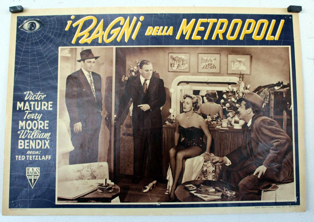 I ragni della metropoli movie poster gambling house for Metropoli in italia