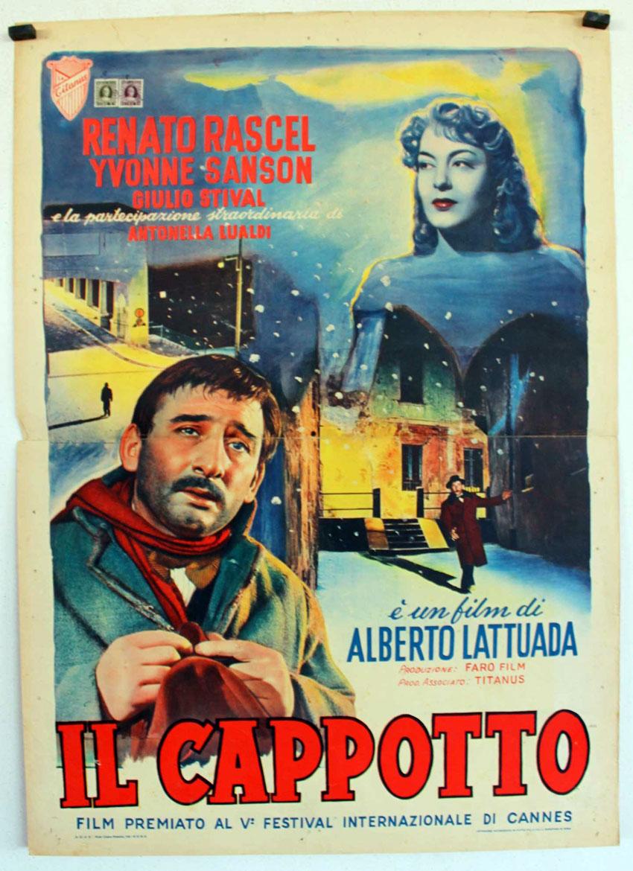 Risultati immagini per il cappotto film 1952