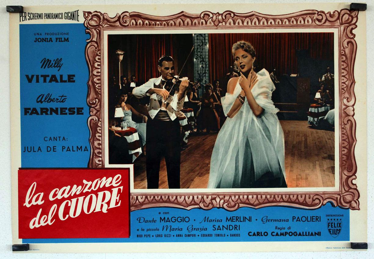 La canzone del cuore movie poster la canzone del - La cucina del cuore ...