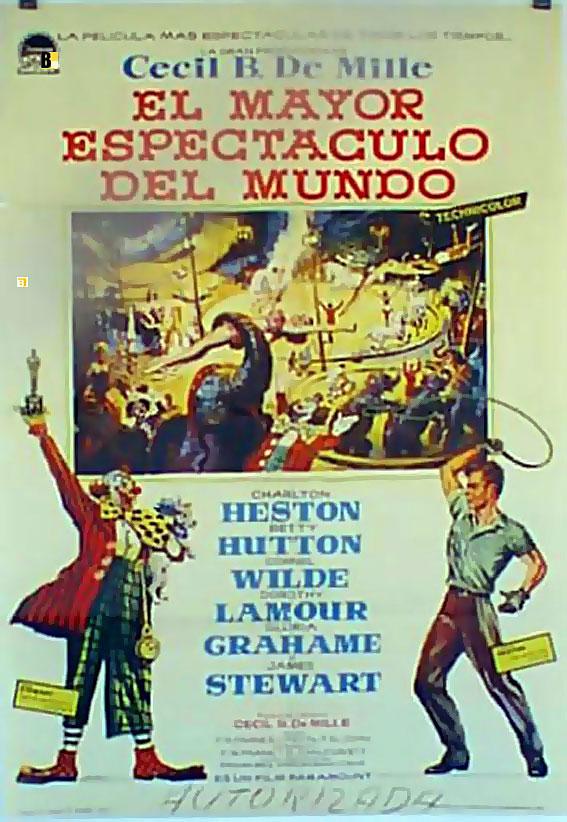 el espectaculo mas grande del mundo movie poster the On el mundo del espectaculo