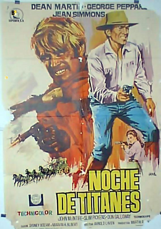 Resultado de imagen de Noche de titanes 1967 poster