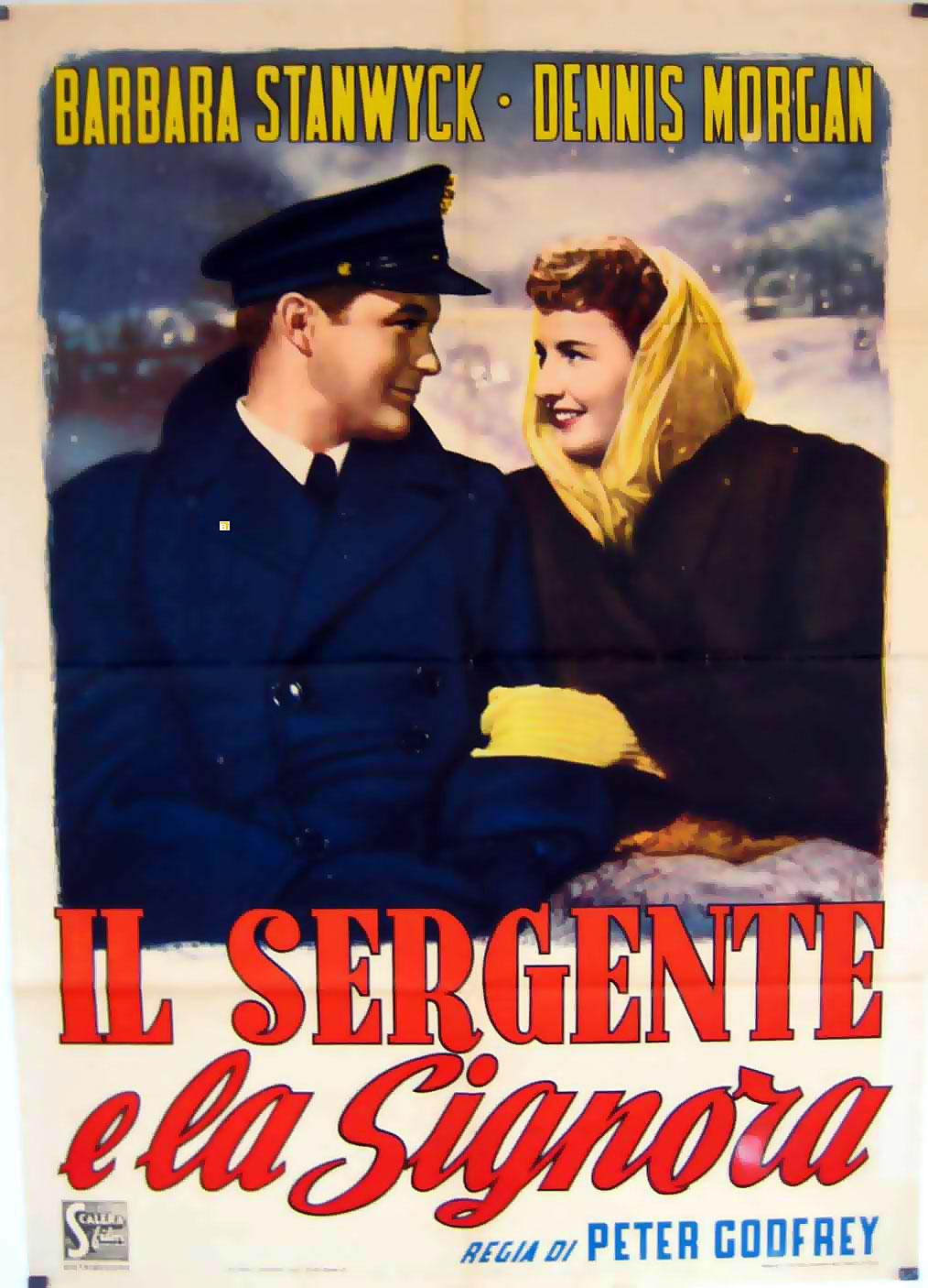 Christmas In Connecticut Poster.Sergente E La Signora Il Movie Poster Christmas In