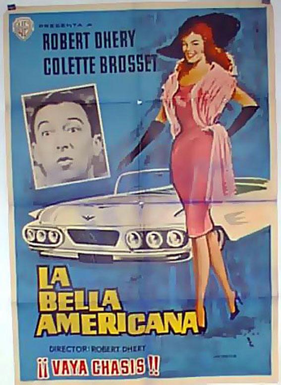 la bella americana movie poster la belle americaine. Black Bedroom Furniture Sets. Home Design Ideas