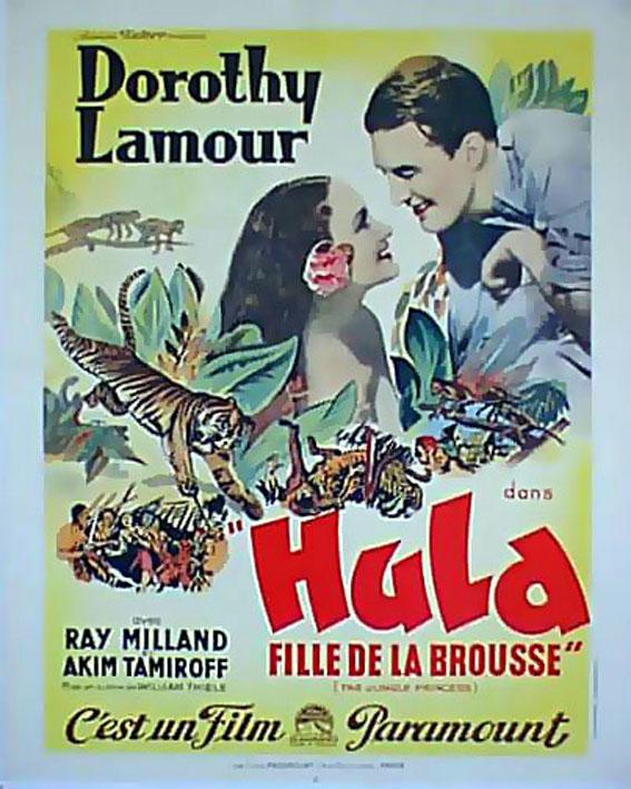 The jungle princess movie poster