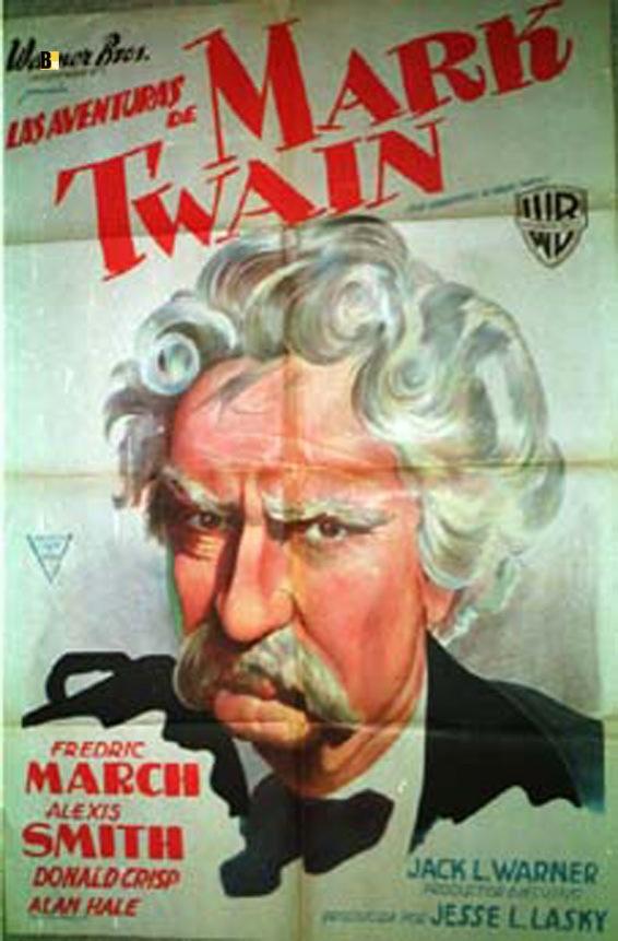 Quot Mark Twain Quot Movie Poster Quot The Adventures Of Mark Twain