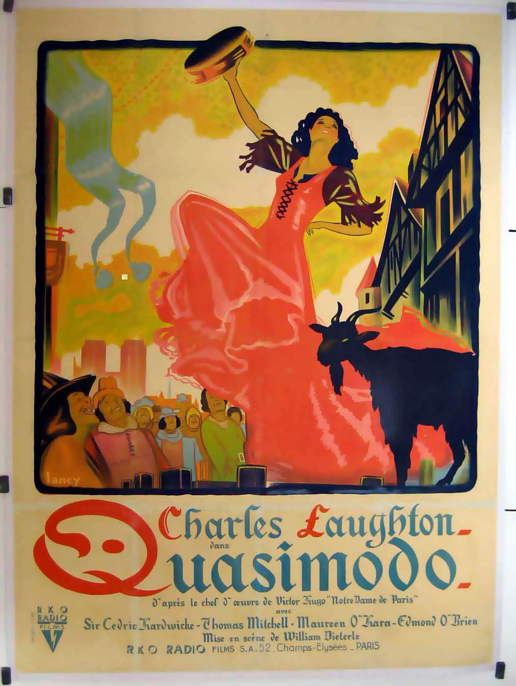 quasimodo film 1939