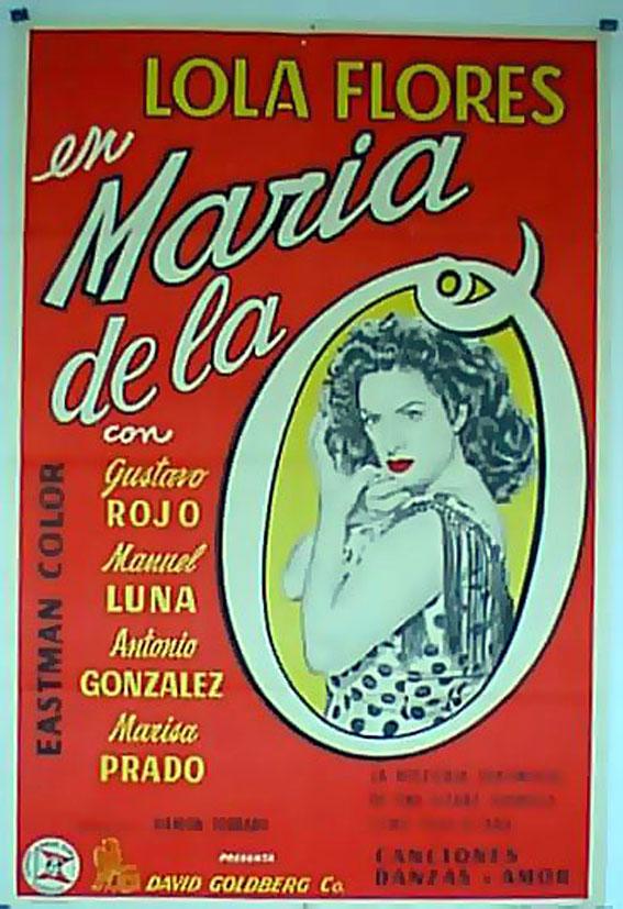 Maria De La O Movie Poster Maria De La O Movie Poster