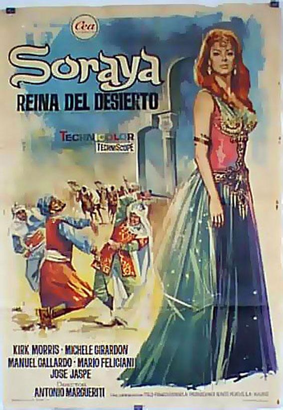 Soraya reina del desierto movie poster anthar l for Aida piscina reina del desierto