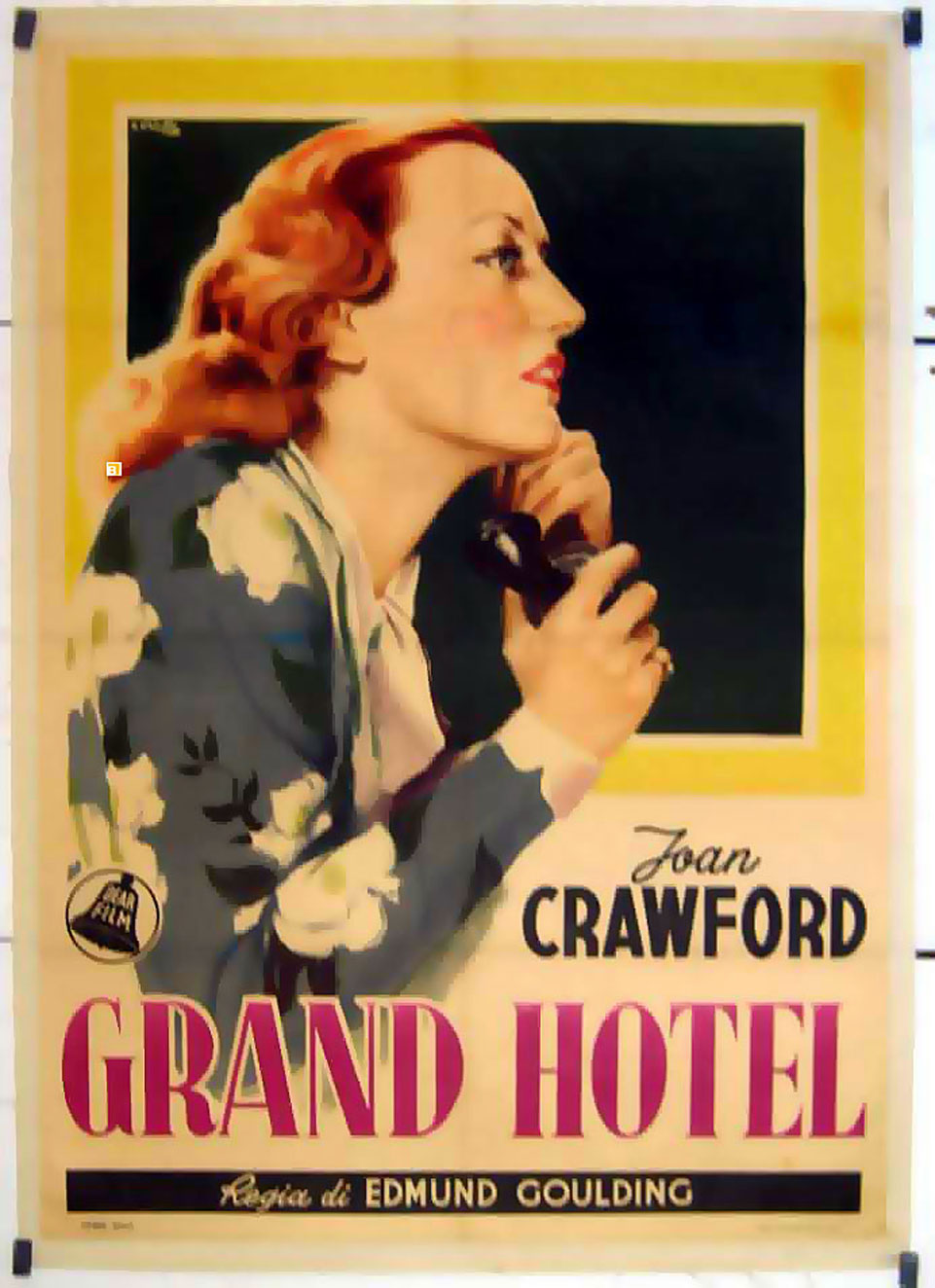 Quot Grand Hotel Quot Movie Poster Quot Grand Hotel Quot Movie Poster