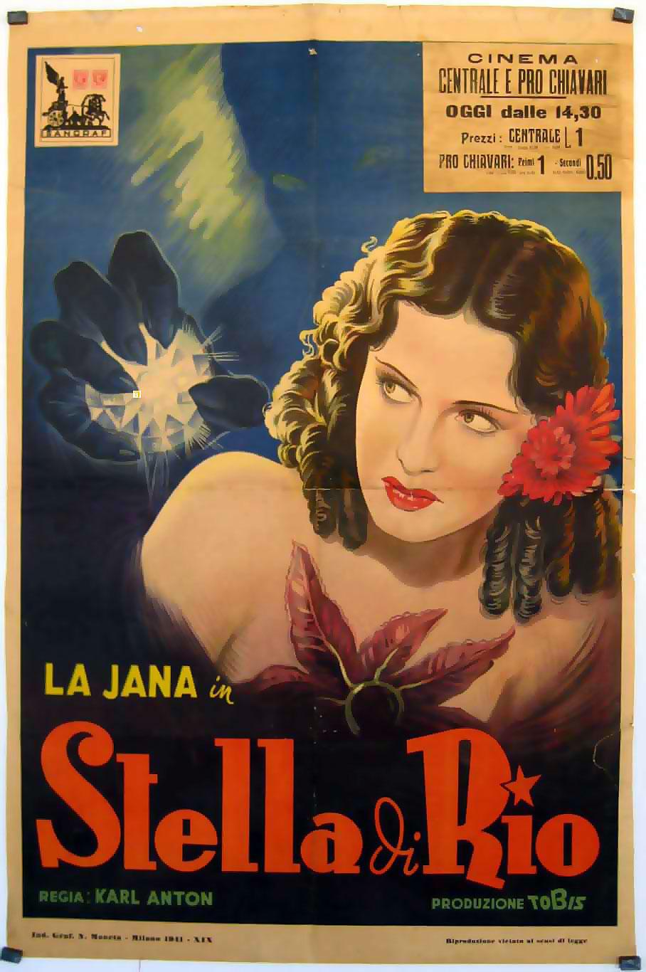 Etoile De Rio L Movie Poster Stern Von Rio Movie Poster