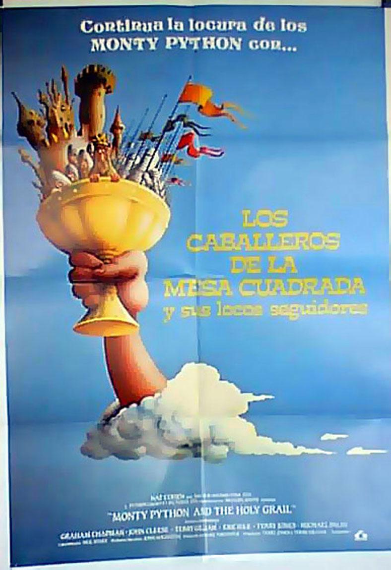 Caballeros de la mesa cuadrada los movie poster for Caballeros de la mesa cuadrada