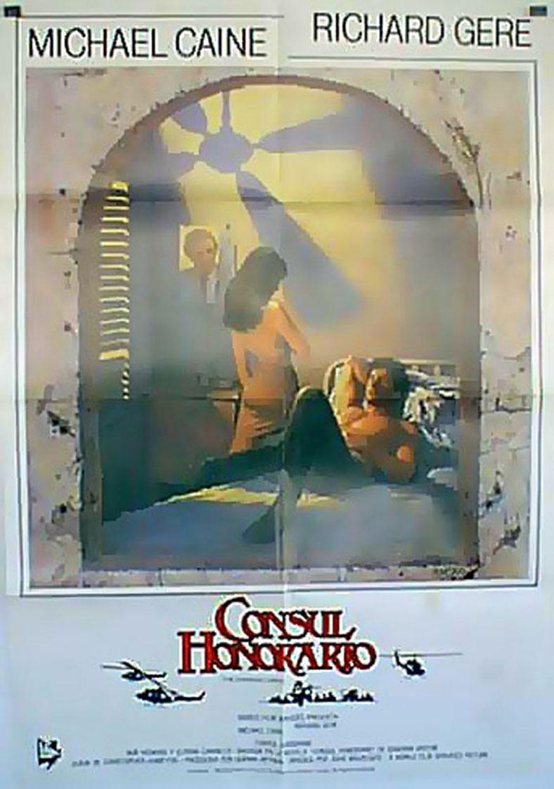 Consul honorario movie poster the honorary consul for Consul catalog