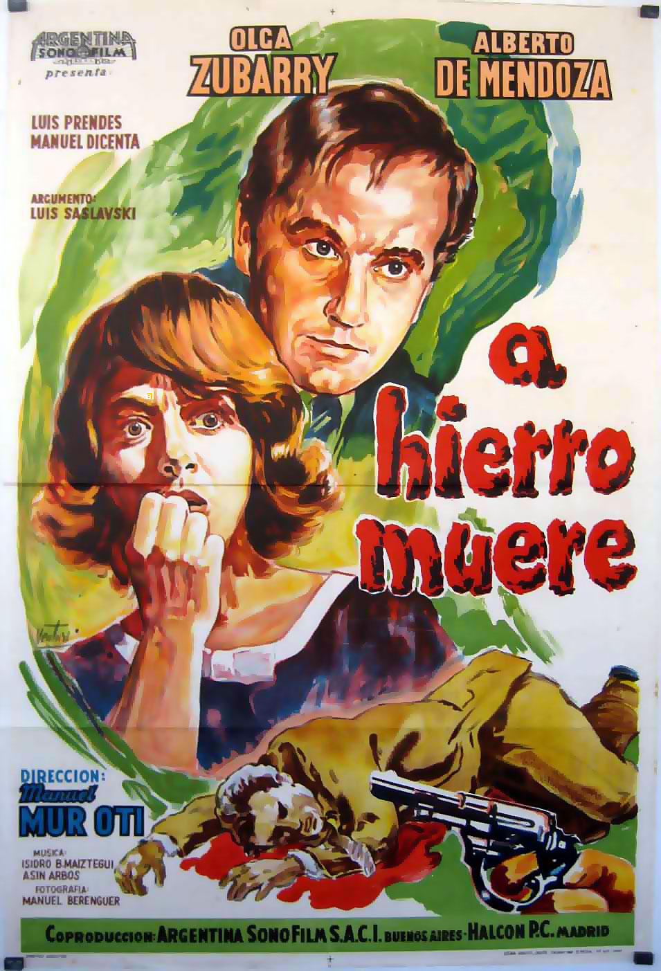 [Cine Negro] A Hierro Muere | 1962 | MEGA