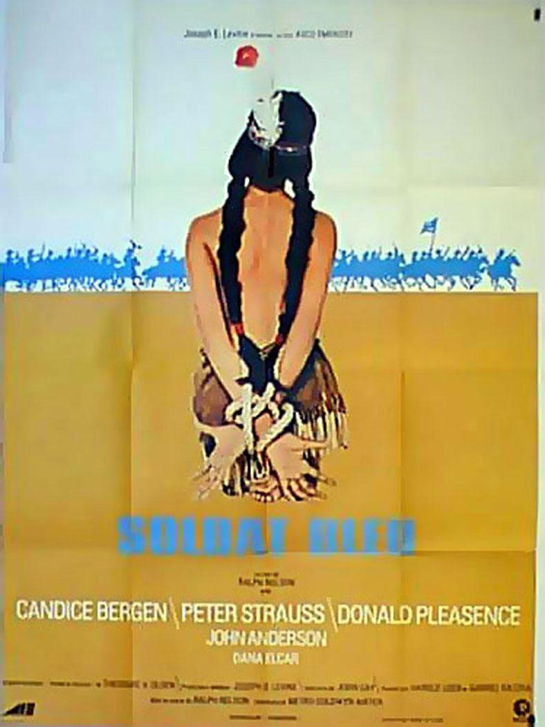 u0026quot soldato blu u0026quot  movie poster