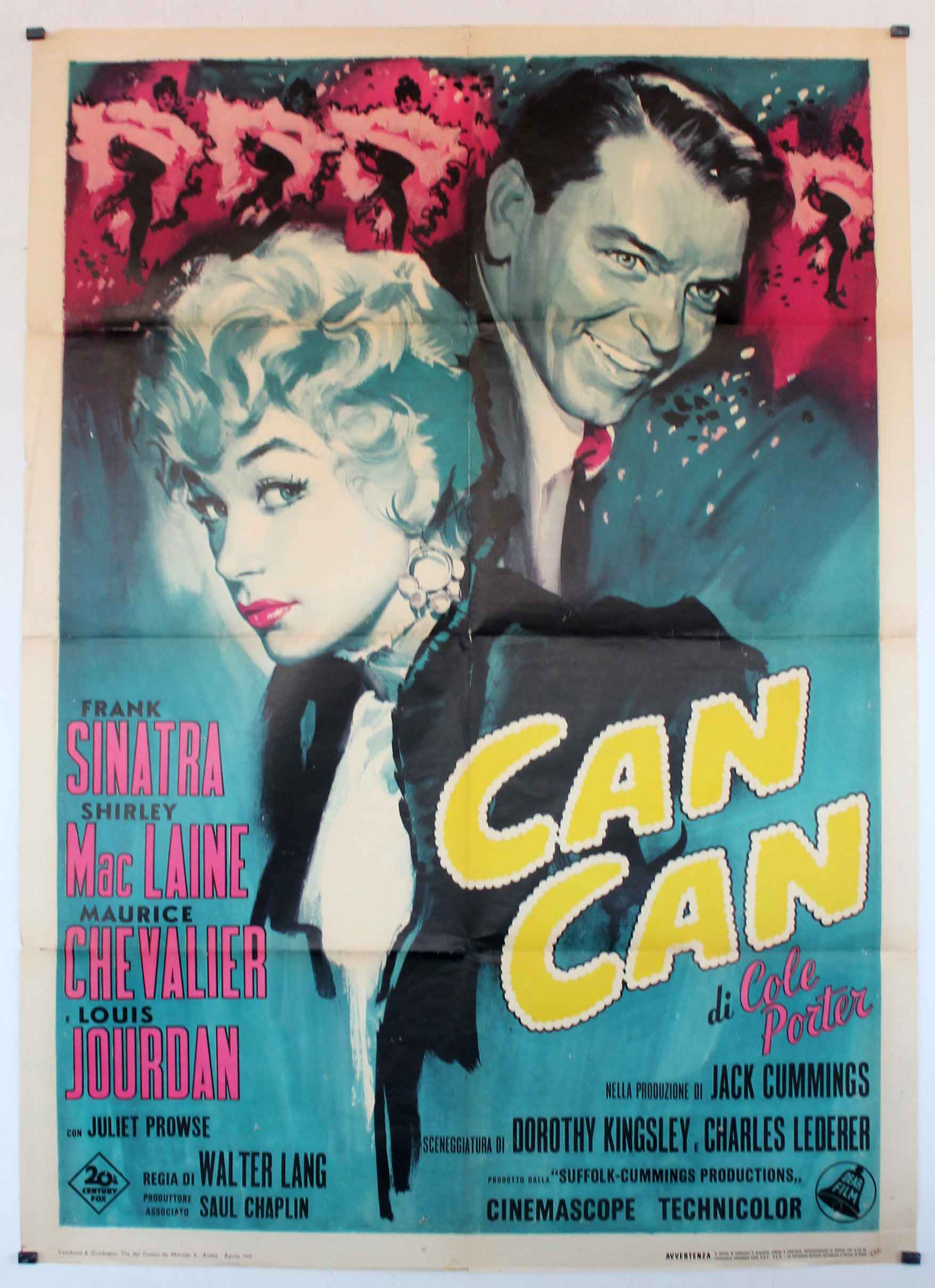 """Frank Sinatra Children """"CAN-CAN"""" MO..."""